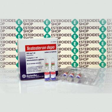 Testosteron Depo (Testosteron Enanthato) 250 mg Galenika | ESC-0156