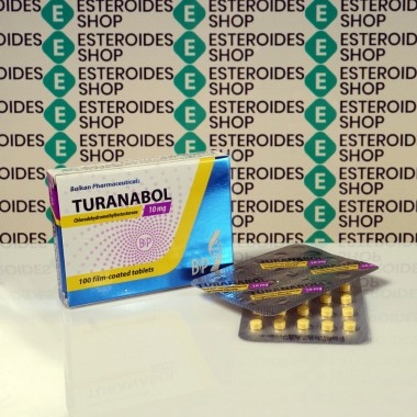 Turanabol 10 mg Balkan Pharmaceuticals | ESC-0095